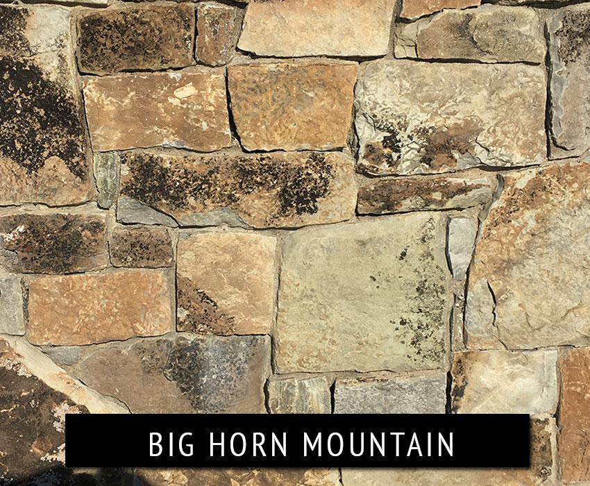 big horn mountain - natural stone