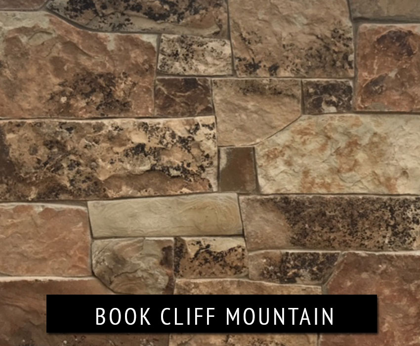 book cliff mountain - natural stone