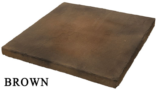 brown hearthstone - manufactured stone