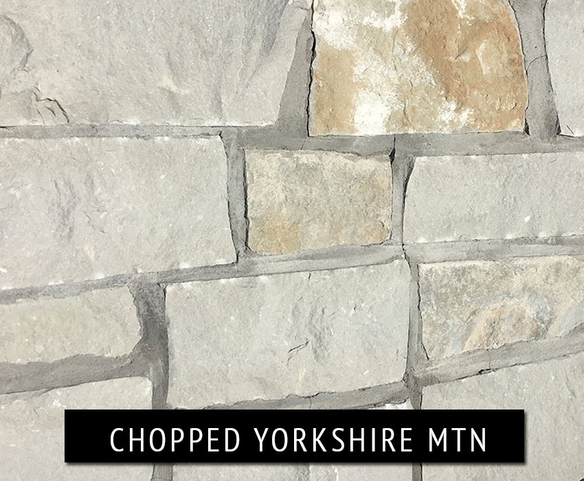 chopped yorkshire mountain - natural stone