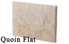 quoin flat - manufactured stone