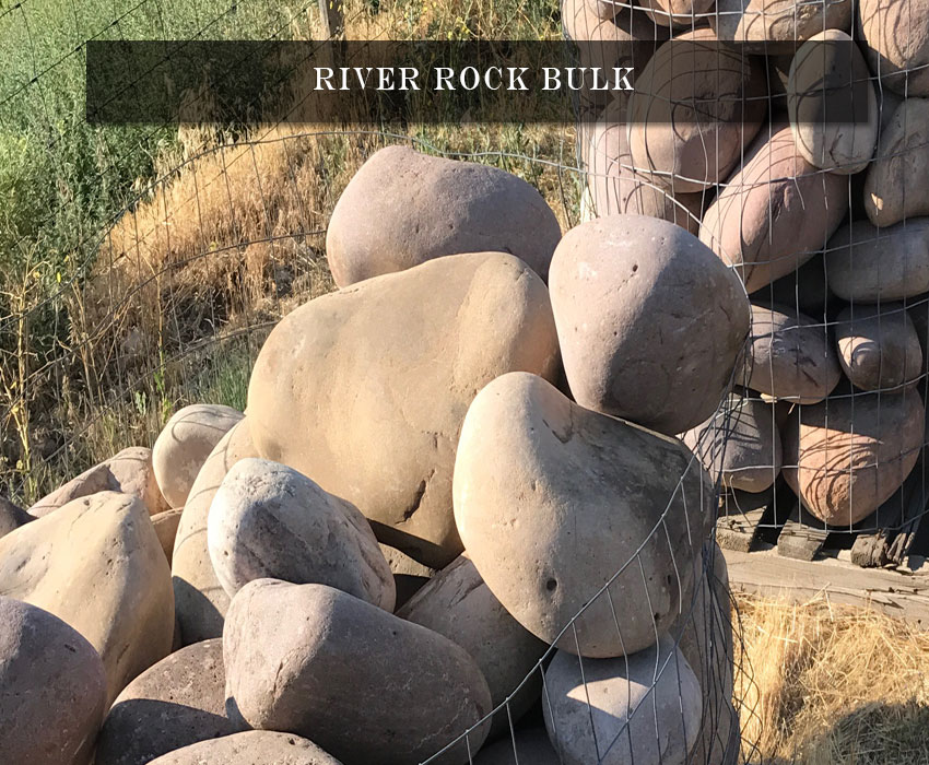 landscaping river rock