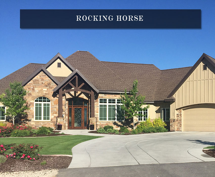 rocking horse - residential natural stone