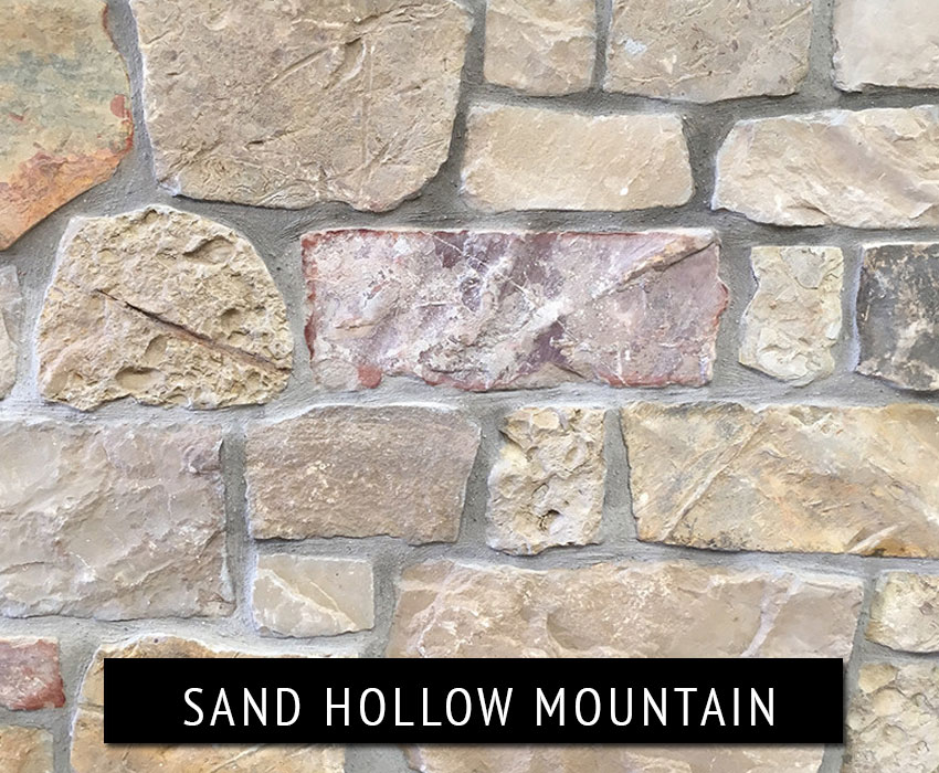 sand hollow mountain - natural stone