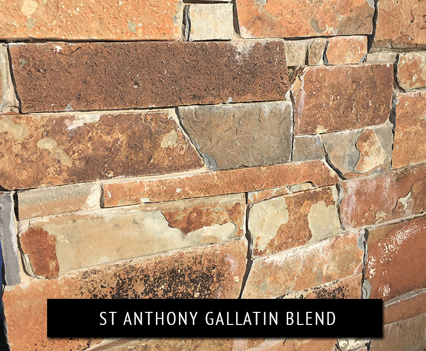 st anthony gallatin blend - natural stone