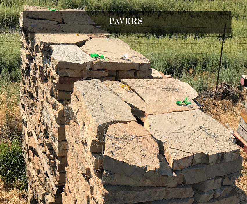 landscaping pavers
