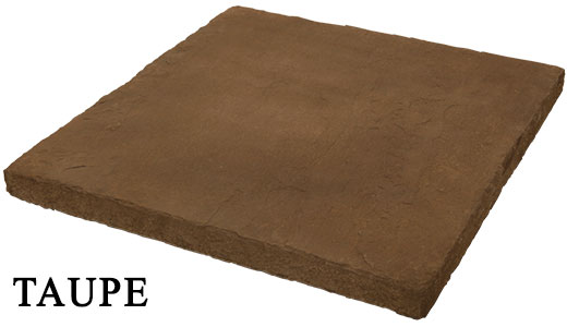 taupe hearthstone - manufactured stone