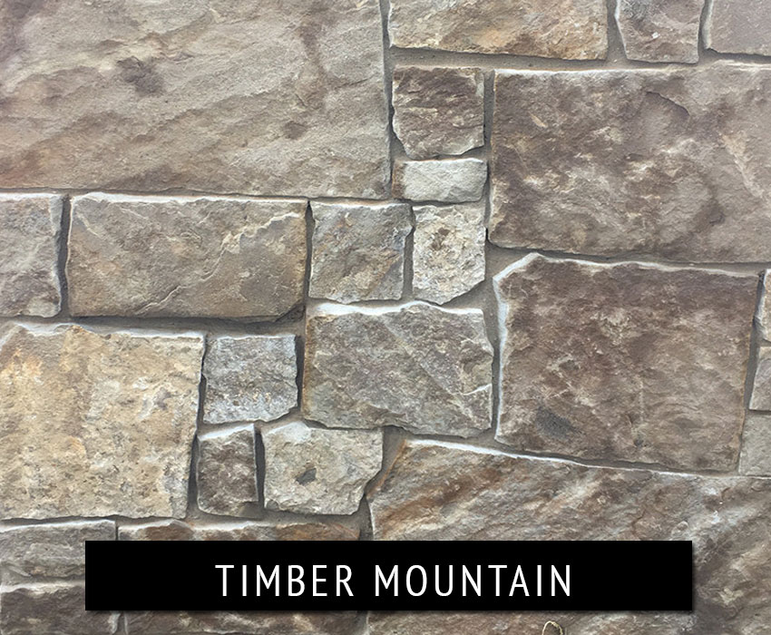 timber mountain - natural stone