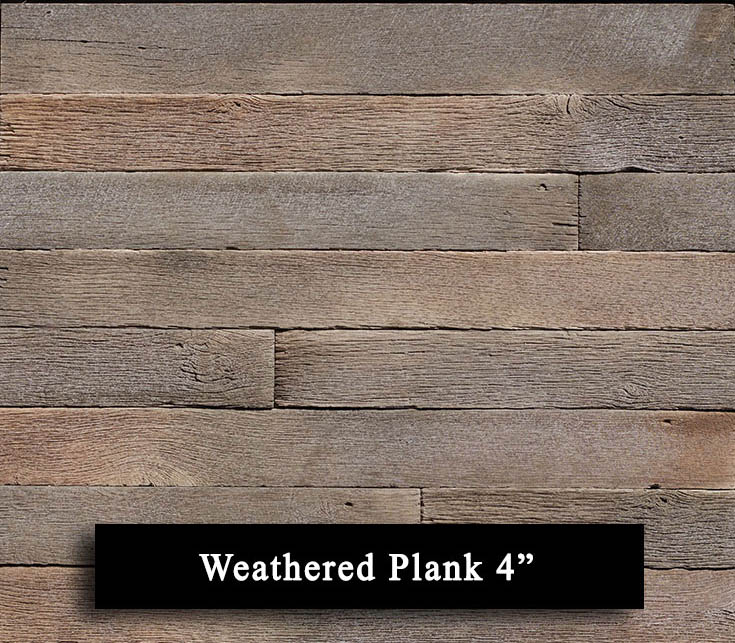 weather plank 4 inch manufactured stone